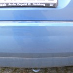 Stoßstange mit leichten Kratzern Ford Fiesta