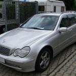 Übersicht Unfallschaden Mercedes-Benz C-Klasse