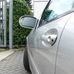 Dellen in der oberen Tür Mercedes Benz C-Klasse